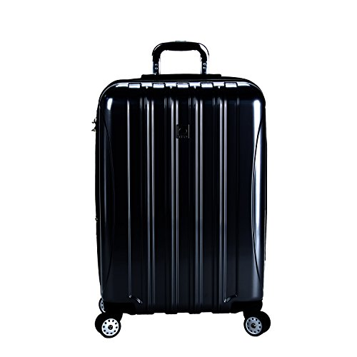 Delsey Luggage Helium Aero 25 Inch Expandable Spinner Trolley, (One size, Black) image