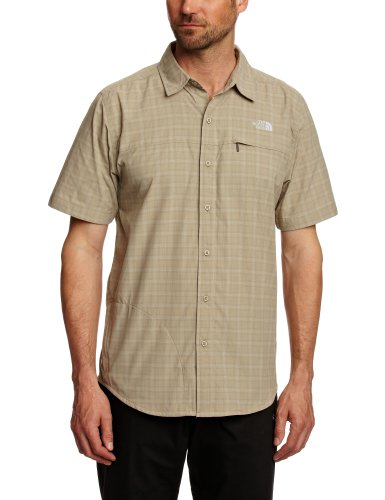 THE NORTH FACE Herren kurzärmeliges Funktionshemd Ventilation, classic khaki, S, T0ADKR28P