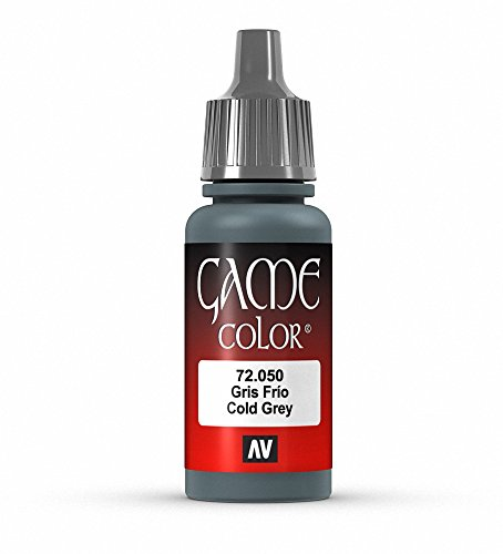 Vallejo Game Color Cold Grey Paint, 17ml