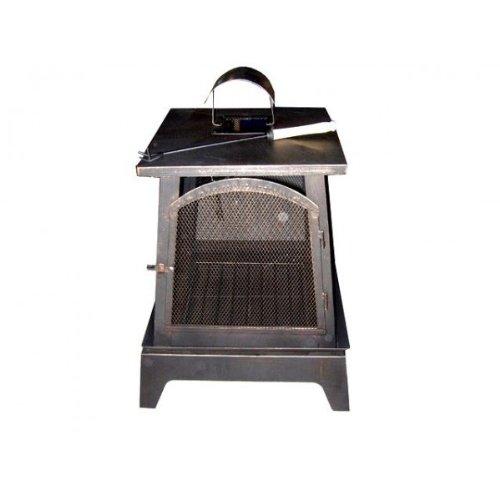 Dakota Outdoor Garden Patio Log burner Heater