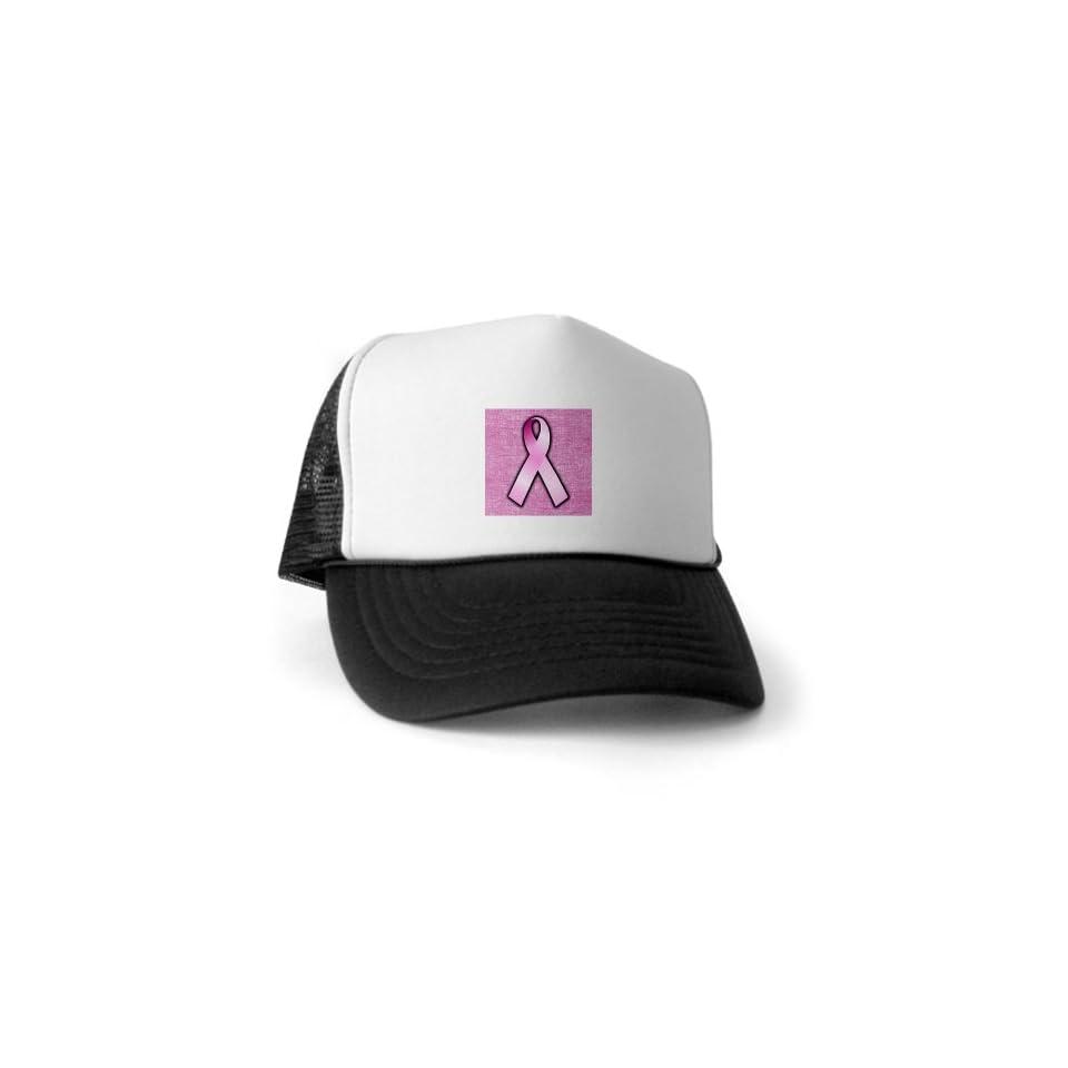 Artsmith, Inc. Trucker Hat (Baseball Cap) Breast Cancer Pink Ribbon
