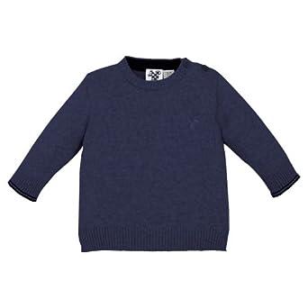 Chicco - Pull - Bb garon - Bleu (Bleu Fonc) - FR: 1 mois (Taille fabricant: 1 mois)