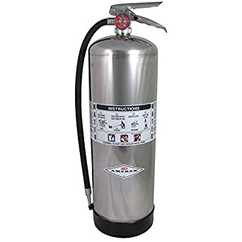 Amerex 240 Water Fire Extinguisher, 2.5 gal