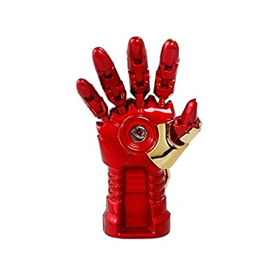 Quace Cool Red Metal Hand 16 GB USB Pen Drive with LED