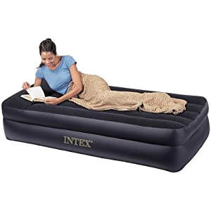 Amazon Intex Twin Pillow Rest Raised Air Bed