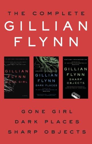 Triple down on Gillian Flynn before GONE GIRL hits theaters!  The Complete Gillian Flynn: Gone Girl, Dark Places, Sharp Objects
