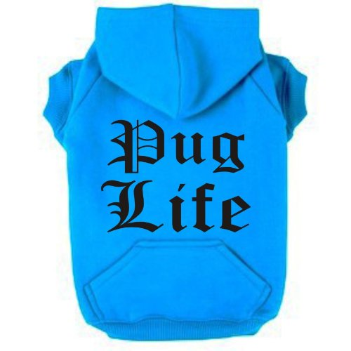 pug-life-large-neon-heather-blue-dog-zip-up-hoodie-pearlescent-black-print