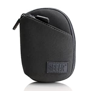 USA Gear High Density Grey Neoprene Video Camera Carrying Case - Works With Kodak PlayTouch , PlayFull , PlaySport Zi8 , Zi6 , Zx1 , Zx5 and More Video Cameras - Includes Mini Tripod & Accessory Bag