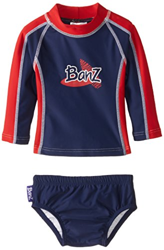 Baby banz baby boys 39 long sleeve rash guard and swim for Baby rash guard shirt