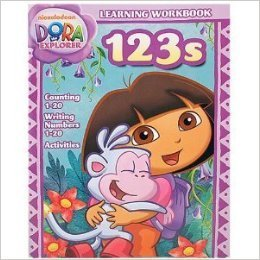 Dora the Explorer 123s Learning Workbook - 1