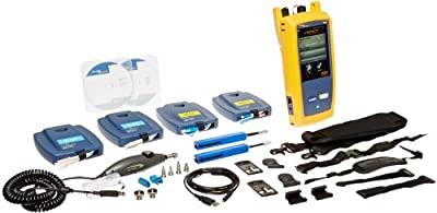 Fluke Networks OptiFiber Pro OTDR Fiber Optic Cable Test Kit for Enterprise Networks