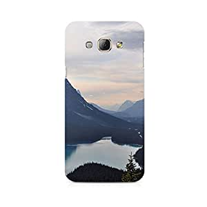 TAZindia Designer Printed Hard Back Case Cover For Samsung Galaxy A8