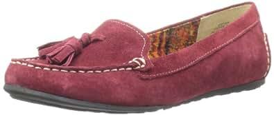 AK Anne Klein Women's Syver Loafer,Dark Red,8.5 M US