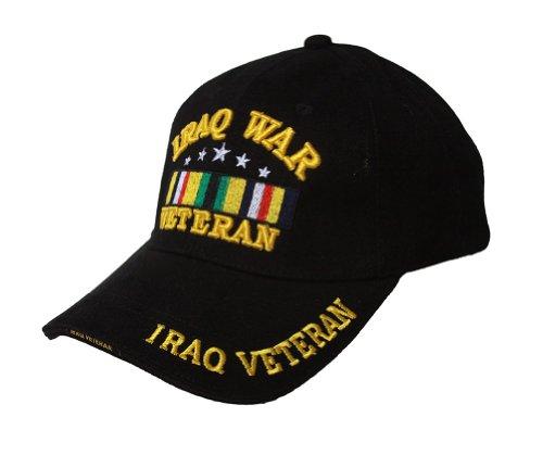 Military - Iraq War Veteran Hat - Black