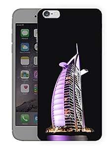 "Humor Gang Dubai Burj Al Arab Printed Designer Mobile Back Cover For ""Apple Iphone 6 PLUS - 6S PLUS"" (3D, Matte, Premium Quality Snap On Case)"