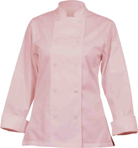 Chef Works Cwlj-Pin Women'S Executive Chef Coat Pink, Size M