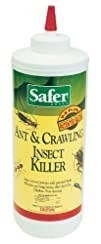 Safer Brand 5168 Diatomaceous Earth Powder Ant Crawling
