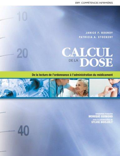 Calcul de la dose : De la lecture de l'ordonnance à l'administration du médicament