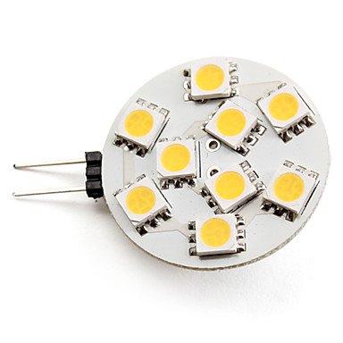 Blumenzwiebeln - G4 2 -  2, 5W 9 x 5050 SMDs 90-100LM 2800-3200K warmweißes Licht LED SpotLampe (12 V)