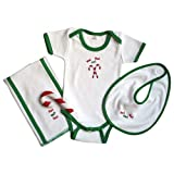 Itty Bittees Holiday Layette Collection 0-3 Months - Ho Ho Ho