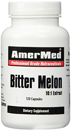 Bitter Melon Extract 600mg, 120 Capsules by AmerMed