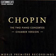 �V���p���F�s�A�m���t�ȁ@��1�ԁ@��2�ԁi�s�A�m�Z�d�t�łɂ��j(Chopin:Piano Concertos(Chamber Version))