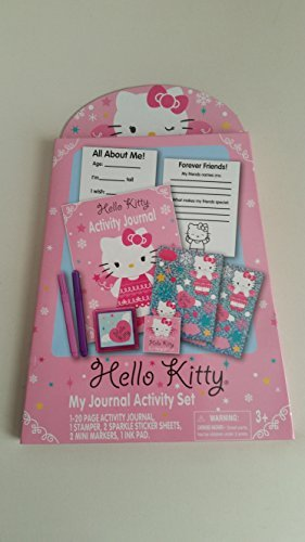 Hello Kitty Journal Activity Set - 1
