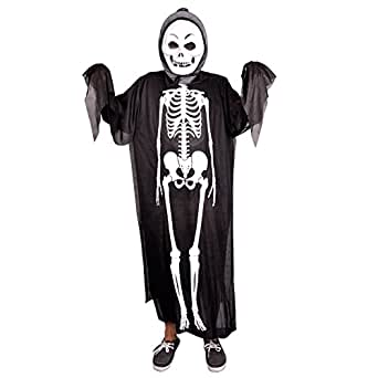 Ckeyin ® Halloween Ghost Cloak Skeleton Dress Costumes Sets
