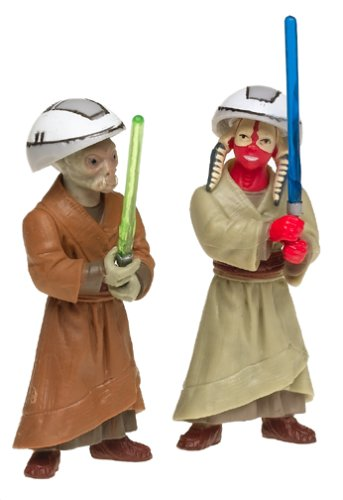 Star Wars 84970 Ashla & Jempa Jedi Padawans Action Figure - Attack of the Clones
