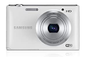 Samsung ST150F Smart Camera 2.0 with Built-In Wi-Fi Connectivity - White (16.2MP, 5x Zoom, F2.5 Bright Lens) 3.0 inch Screen