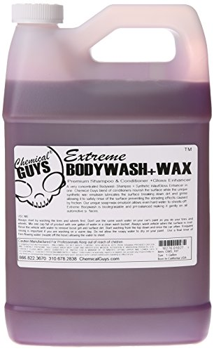 chemical guys cws107 extreme body wash and synthetic wax. Black Bedroom Furniture Sets. Home Design Ideas