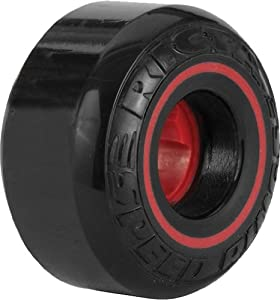 Buy Ricta Speedrings 81B Skateboard Wheels (Black Red, 52-mm) by Ricta