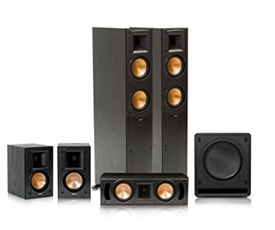 Klipsch RF-52 II Reference Series 5.1 Home Theater System (Black) by Klipsch