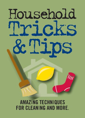 Household Tricks & Tips: Amazing Techniques for Cleaning and More (Refrigerator Magnet Books)