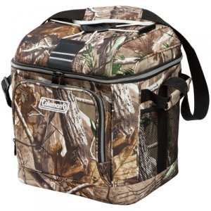 Coleman 30-Can Soft Cooler with Liner | 4 Pockets and Bungee Cord on top | Zippered Front Pocket (Coleman 45 Can Cooler compare prices)