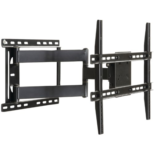 Large Full Motion Articulating Mount For 37 inch to 84 inch Flat Screen TV In Black (Tv Wall Bracket 80 compare prices)