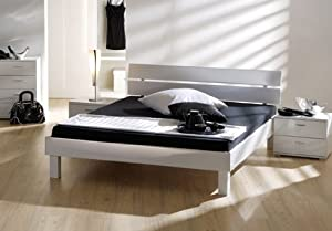 stilbetten bett futonbetten jago hochglanz wei 100x200 cm k che haushalt. Black Bedroom Furniture Sets. Home Design Ideas
