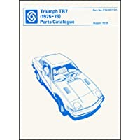 Triumph TR7 Parts Catalogue 1975-1978