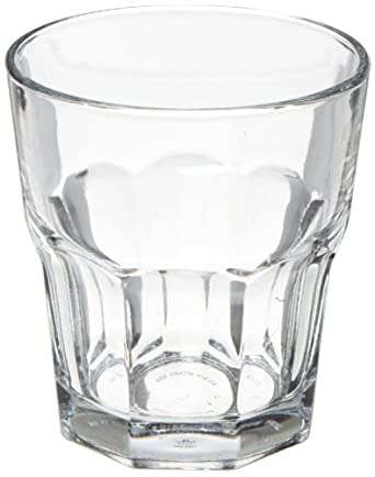 """Anchor Hocking 90010 3-7/8"""" Diameter x 4-1/4"""" Height, 12 oz New Orleans Double Rock Glass (Case of 36)"""