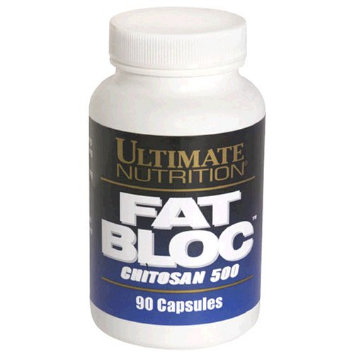 Ultimate Nutrition Fat Bloc Chitosan , 90 Capsule Bottles (Pack Of 2)