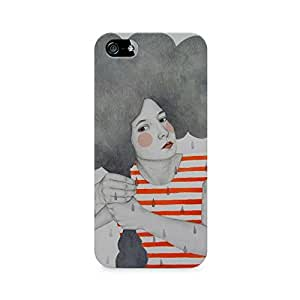 Mobicture Girl Abstract Premium Printed Case For Apple iPhone 5/5s