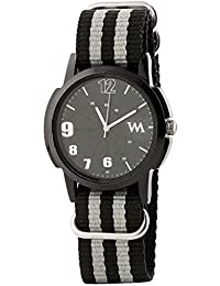 WATCH ME Black Nylon Black Dial Watch For Men Black Nylon Black Dial Watch For Men Watch MeAL-189