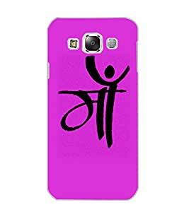 SAMSUNG GALAXY E5 MAA Back Cover by PRINTSWAG
