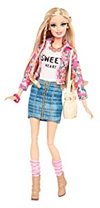 Amazon.com: Barbie Style Floral Jacket Doll: Toys & Games