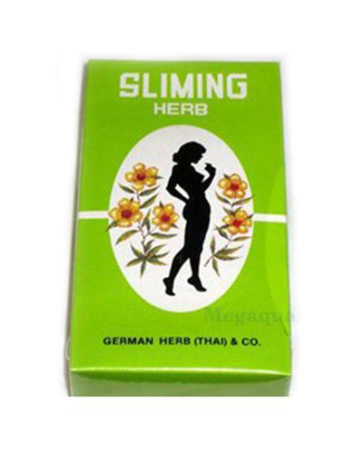 100 Bags Slimming German Herb Sliming Tea Burn Diet Slim Fit Fast Detox Laxative Made From Thailand