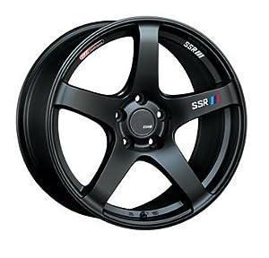 SSR Wheels T418850+4405CMB GTV01 18×8.5 5×100 44mm Offset Flat Black Wheel 02-05 WRX