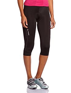 VAUDE Damen Hose Women's Advanced 3/4 Pants, Black, 34, 04392