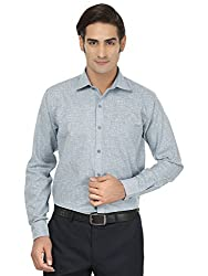 Jainish Men's Solid Formal Cotton Shirt