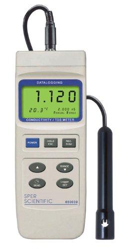 Datalogging Conductivity TDS Meter by Sper Scientific