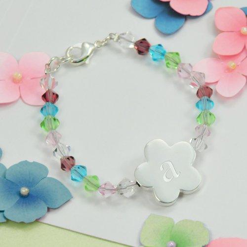 Personalized Keepsake Flower Girl Bracelet